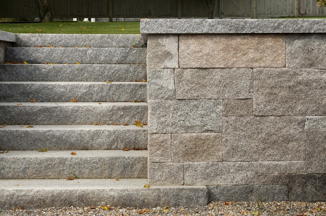 granite, quarried and reclaimed, Martha's Vineyard